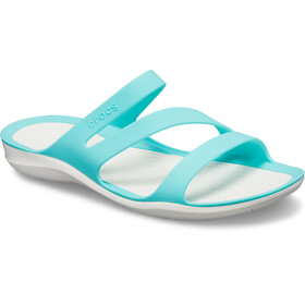 Crocs Swiftwater Sandals Damen pool/white